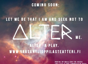 ALTER: A Play